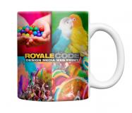 Full Colour Printed Vienna Dye Sub Mug