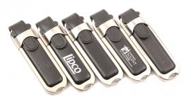 Promotional LD2 Leather & Metal USB