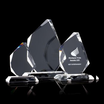 Medium Optical Crystal Trophy Prism