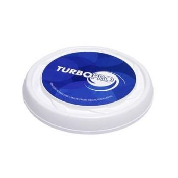 Branded Turbo Pro Flying Disc Frisbee - Recycled Plastic