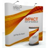 Impact Curved Pop-up Bundle - 3x3 - 2540mm Wide