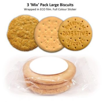 Promotional Biscuits - 3 Pack Large