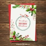 Personalised A5 Christmas Cards