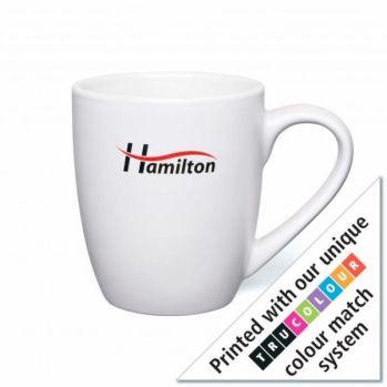 Personalised White Mini Marrow Mug