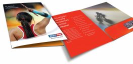 Presentation Folder - Oversize A4 Printed Full colour to Outside