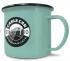 Printed 10oz Coloured Enamel Mug