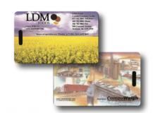 Printed Biodegradable Wallet Data Card