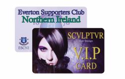 Printed Plastic Membership Credit Card