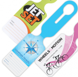 Printed Tyvek Luggage Tag
