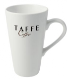 Printed White Cafe Latte Mug
