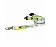 Promotional 10mm Dye Sublimation Polyester Lanyard