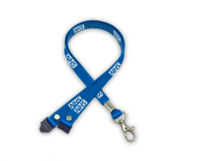 Promotional 15mm Silicon Lanyard