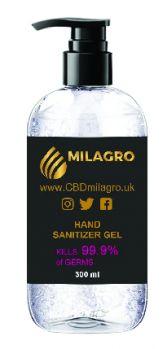 Promotional 300ml Hand Sanitiser Gel