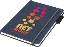 Promotional A5 Jeans Notebook