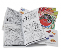 Promotional A6 Sticker Activity Book