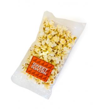 Promotional Bag of Sweet Popcorn