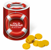 Promotional Chocolate Coin Money Tin