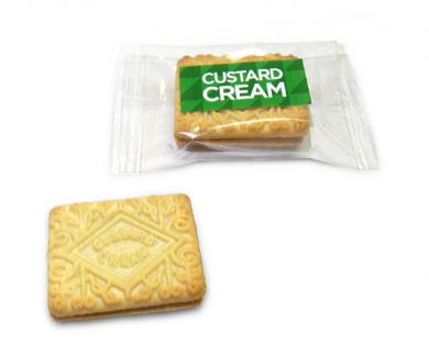 Promotional Custard Cream Biscuit