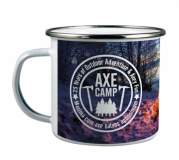 Promotional Enamel Photo Mug