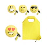 Promotional Folding Emoji Pouch Bag