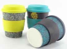 Promotional Full Colour Bamboo Mug 350ml