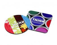 Promotional Full Colour Hardwood Coaster