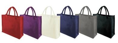 Promotional Laminated Dyed Jute Shopping Bag