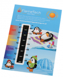 Promotional Large Energy Saving Room Thermometer Card