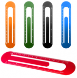 Promotional Metal Bookmark Ruler