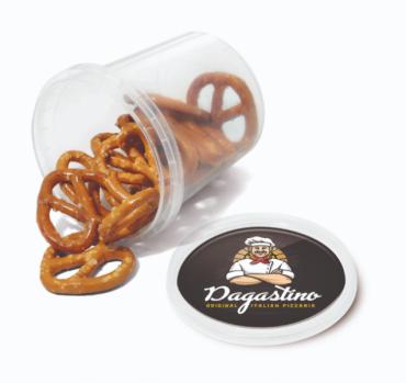 Promotional Pretzel Snack Pot