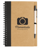 Promotional Recycled Priestly Notebook with Pen