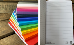 Promotional Rampton A5 Eco Flexi Notebook