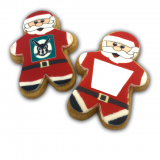 Promotional Santa Shortbread Biscuits