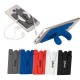 Promotional Silicone Phone Wallet & Stand