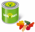 Promotional Small Paint Tin of Wine Gum Tools