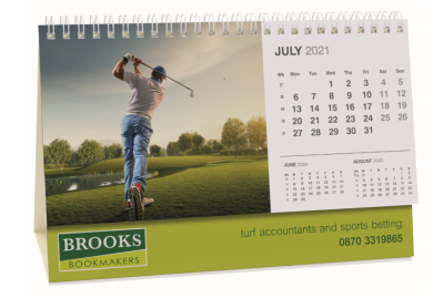 Promotional Smart Calendar Panorama Easel