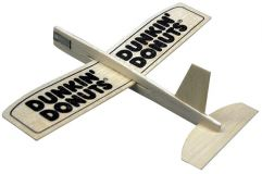 Promotional Balsa wood model glider - small