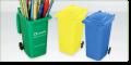 Personalised Recycled Wheelie Bin Pen Pot