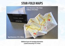 Promotional Star Fold Map