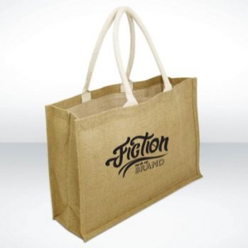 York Jute Shopper